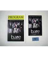 Bare Program 2013 York Theatre Off Broadway Hartmere Intrabartolo Devon ... - $39.59