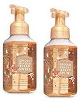 Bath and Body Works 2 Spiced Gingerbread Swirl Gentle Foaming Hand Soap.... - $21.79