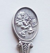 Collector Souvenir Spoon Christmas 1987 Little Drummer Boy Embossed Emblem - $4.99