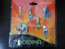 Disney Trading Pins 127064 Zootopia Booster Set - 6 pins - $23.25