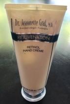 Dr. Jeannette Graf, M.D. Rejuvenation Retinol Hand Creme 5.25 Oz New And... - $23.38