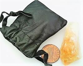 Citrine Crystal Specimen Keepsake Pouch 3 - $5.33