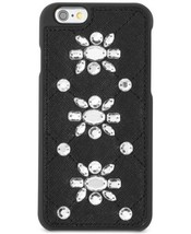 Michael Kors Saffanio Embellished iPhone 6 Cell Phone Case, Black, NEW $75 - $29.00