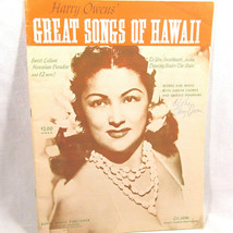 Harry Owens Songs of Hawaii Book Autographed 1964 Hattie Piano Ukulele V... - $42.56