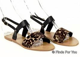 J Crew Camden Calf Hair Sandals 6 A4807 - $59.39