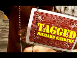 Tagged by Richard Sanders (DVD and Gimmick) Close Up New Funny Magic Trick - $19.79