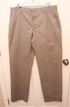 Banana Republic Mens Sz 36 x 34 Gray  Modern Fit Pants Dress Career NWT - $29.67