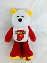 "Indiana State Quarter Bear Plush 8"" Limited Treasures Stuffed Animal Toy - $6.95"