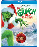 Dr. Seuss' How The Grinch Stole Christmas [Blu-ray] - $5.95