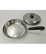 """Revere Ware Copper Clad Stainless Steel 8"""" Pan w/ Lid Vintage Cookware - $31.45"""