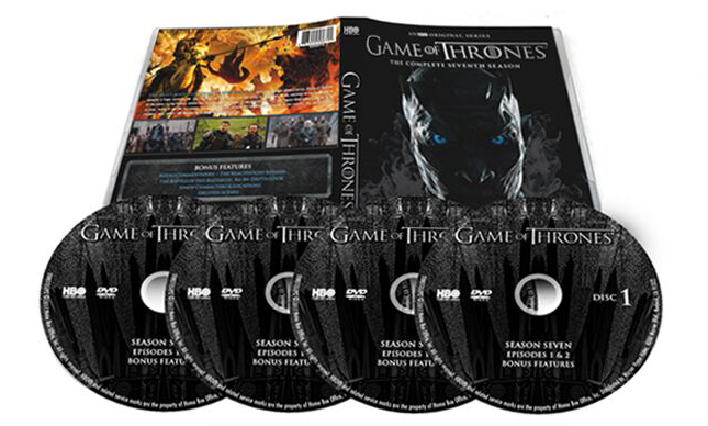 Game of Thrones The Complete Seventh Season 7 DVD Box Set 4 Disc Free Shipping