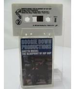 Boogie Down Productions Ghetto Musica Blueprint Di Hip Hop (Cassetta) - £8.21 GBP