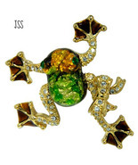 Tree Frog Brooch Lapel Pin - $12.50