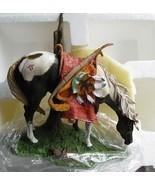 Night Shadow - Sioux Pony Ceramic Sculpture  - Danbury Mint - $14.95