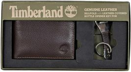 Timberland Men's Leather Billfold Logo Wallet w/Bottle Opener NP0511/01 image 5