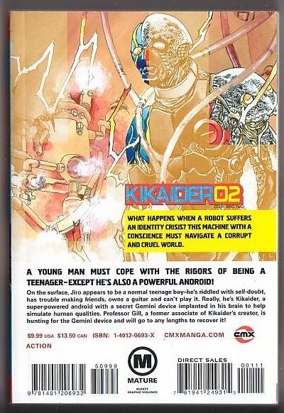 Kikaider Code 2 Volume 1 By Cmx Manga Kikaida English Adaptation Mature Readers