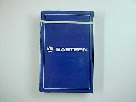 Vintage Eastern Airlines Bridge Size Playing Cards