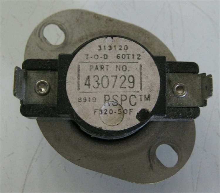 * Huebsch Stack Dryer Stepdown Thermostat #430729