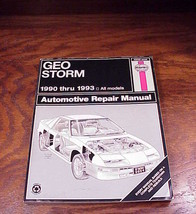 Haynes Geo Storm Repair Manual, 1990 to 1993 - $7.90