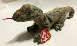 TY BEANIE BABY SCALY BIRTH DATE 2/9/1999, P.E. STYLE 4263 - NEW OLD STOCK - $9.99