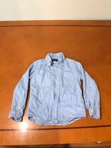 Boys Kids Children's Place Light Blue Long Sleeve Button Down Shirt Size... - $8.90