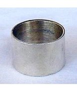 Silver band ring - $15.00