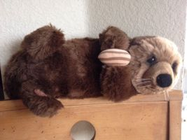 Lou Rankin Applause River Otter Plush Stuffed Tou Animal W Nut Cute VTG ... - $26.39