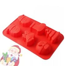 Christmas Silicone Baking Mold SourceTon Christmas(RED) - $10.09