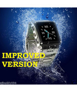 New Waterproof Watch Mobile Cell Phone  w818 Camera - $212.63
