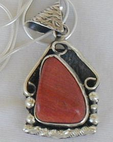 Blood stone pendant p74