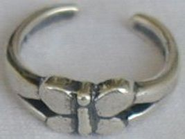Butterfly toe ring   - $7.00