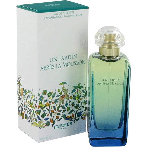 Hermes Un Jardin Apres La Mousson 3.4 Oz Eau De Toilette Spray