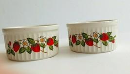 Strawberries n Cream Set of 2 Baking Dishes - $14.95