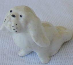 White doggy miniature