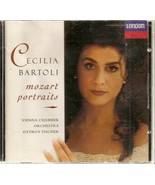 CD--Mozart Portraits by Cecilia Bartoli  - $3.99