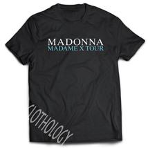 SHIRT TSHIRT MADONNA MADAME X TOUR 2019 BLACK PREMIUM S-3XL SIZE AVAILAB... - $24.00+