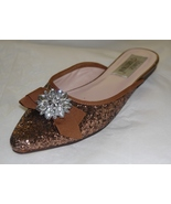 Jamie Kreitman New York Ladies Crystal Rhinestone Shoes Sz 8 - $35.00
