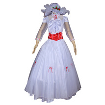 Mary Poppins Fancy Halloween Princess Cosplay Costume Women Dress - $117.09