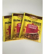 3 Old El Paso Chipotle Chicken Spice Slow Cooker Instapot Seasoning Mix ... - $9.99