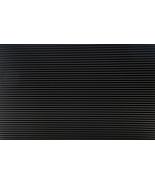 "DOLLHOUSE MINIATURE 12 x 16"" BLACK TIN ROOF PANEL #MH5336 - $8.99"