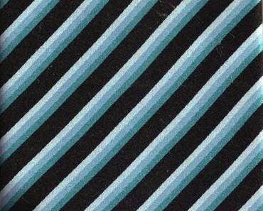 BCBG Tie Mens Necktie Silk Blue Black Stripe NWOT Bcbg Max Azria