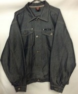 Pure Playaz The Original Mens Xxl Jean Jacket Button Up P47 - $23.75