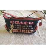 Coach Bonnie Cashin Pink Blue Small Handbag With Kisslock - $55.00