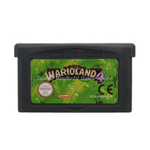 Wario Land 4 GBA Game Boy Advance Reproduction Cartridge EU English - $11.99