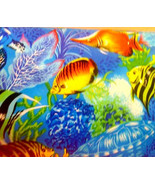 New TROPICAL OCEAN Window Curtain Valance Limited supply - $12.99
