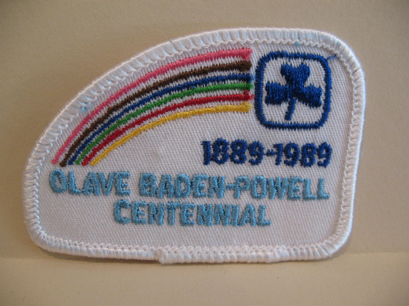 Primary image for Olave Baden Powell Centennial Girl Guides Patch Crest Badge Souvenir Scouts