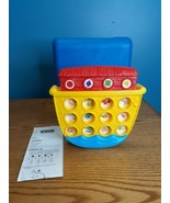Vintage Fisher Price Animal 2 X 2 Game Noah's Ark Matching Memory Connec... - $19.80