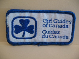Girl Guides of Canada Patch Crest Badge Souvenir Scouts Collectible  - $2.99