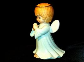 Ceramic Angel With Halo AA-191730 Vintage Collectible image 3