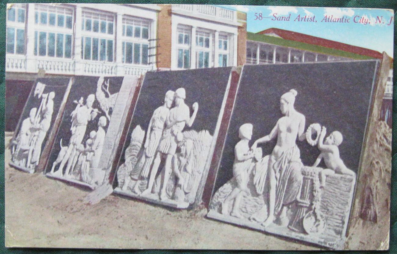Atlantic city bach sand art 1 1
